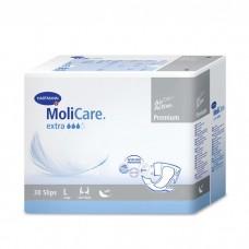 Подгузники для взрослых MoliCare Premium Extra Soft Large, объем талии 120-150 см., 30 шт.
