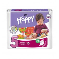 Подгузники Bella Baby Happy Junior, 10 шт, 12-25 кг