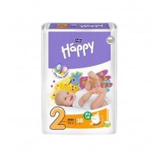 Подгузники Bella Baby Happy Mini, 38 шт, 3-6 кг