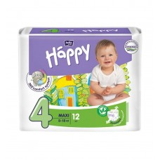 Подгузники Bella Baby Happy Maxi, 12 шт, 8-18 кг
