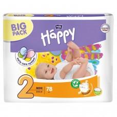Подгузники Bella Baby Happy Mini, 78 шт, 3-6 кг