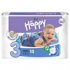 Подгузники Bella Baby Happy midi 3 5-9 кг 13шт