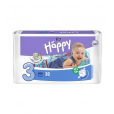 Подгузники Bella Baby Happy midi 3 5-9 кг 32шт