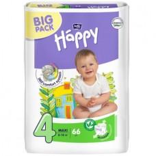 Подгузники Bella Baby Happy Maxi, 66 шт, 8-18 кг