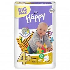 Подгузники Bella Baby Happy Maxi Plus, 62 шт, 9-20 кг
