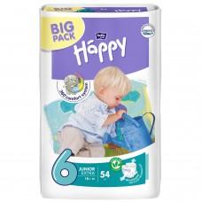 Подгузники Bella Baby Happy Junior Extra, 54 шт, от 16+
