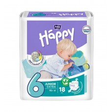 Подгузники Bella Baby Happy Junior Extra, 18 шт, от 16+